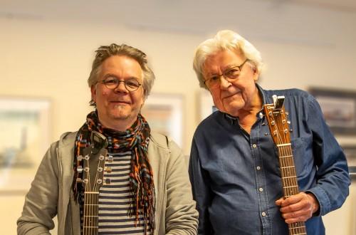 Anders Wallén och Ted Ström. Foto: Gunnar Nilsson