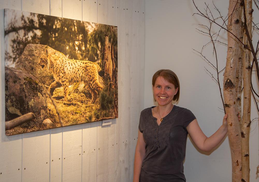 Sofia Carlsson valde lon. Foto: Gunnar Nilsson